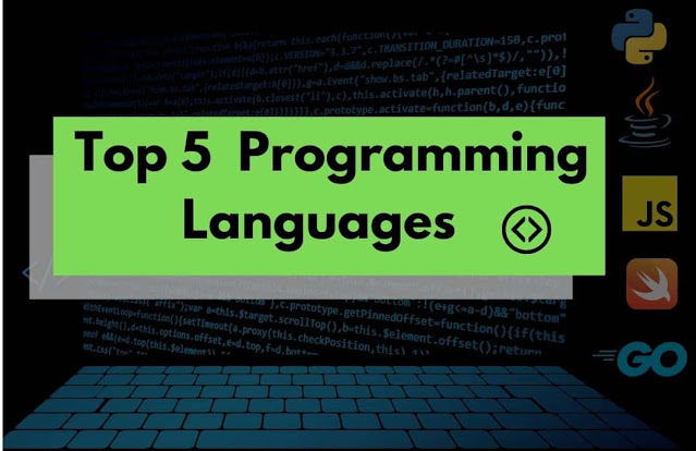 Top 5 programming languages  in hindi 2020