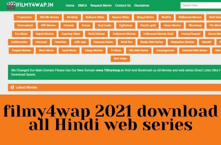 filmy4wap 2021 download all Hindi web series